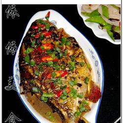 蒜蓉豆豉烧鳊鱼的做法[图]