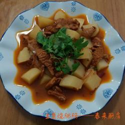 土豆烧肥肠的做法[图]