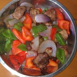 私房菜黑胡椒炒肉的做法[图]