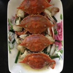 葱爆梭子蟹的做法[图]