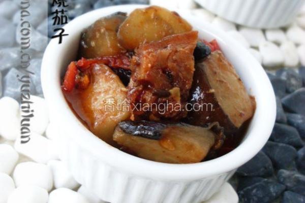 豆豉鲮鱼烧茄子