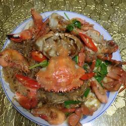 香辣粉丝梭子蟹的做法[图]