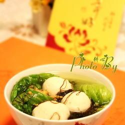发菜鱼丸汤的做法[图]