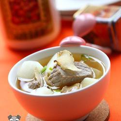 萝卜天麻豆酱汤的做法[图]