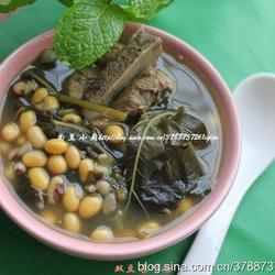 双豆桑叶骨头汤的做法[图]
