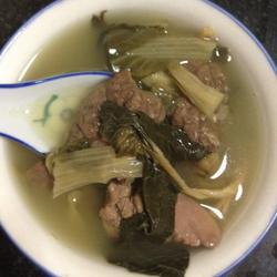 猪肺菜干汤的做法[图]