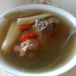 牛蒡淮山汤的做法[图]
