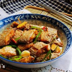香辣红烧带鱼的做法[图]