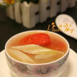 葱白番茄洋葱汤的做法[图]