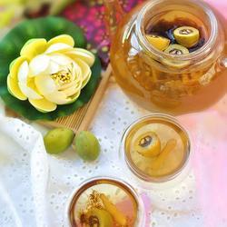檀香橄榄麦冬绿茶的做法[图]