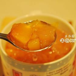 木瓜银耳炖雪蛤的做法[图]