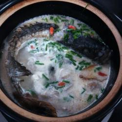 水煮活青石斑鱼的做法[图]