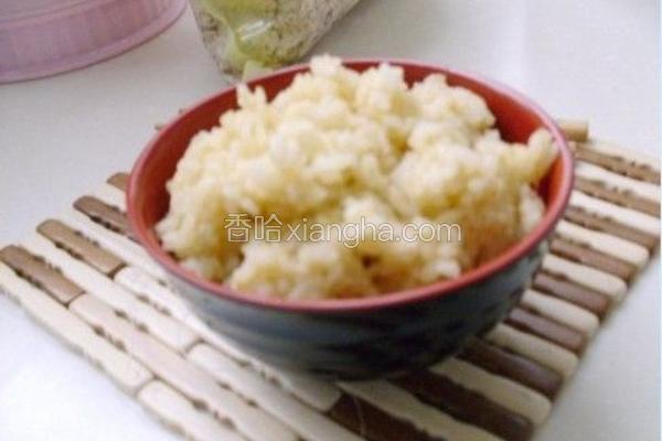 燕麦红枣花生枸杞豆浆米饭