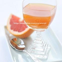 葡萄柚蜂蜜红茶的做法[图]