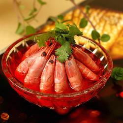 蜜醋北极虾的做法[图]