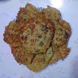 牡蛎鲜虾饼的做法[图]