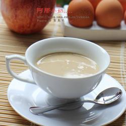 阿胶牛奶的做法[图]
