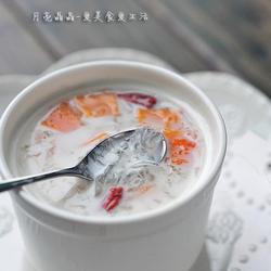 木瓜牛奶炖燕窝的做法[图]