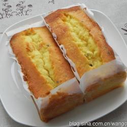 百香果磅蛋糕的做法[图]