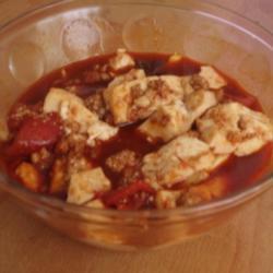 鱼子肉沫烧豆腐的做法[图]