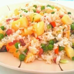 火腿洋芋豆焖饭的做法[图]