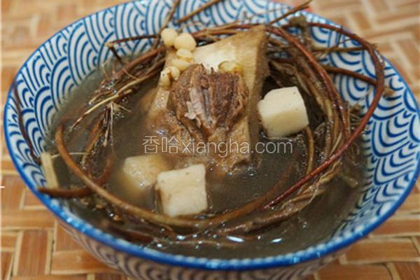 鸡骨草茯苓养肝祛湿汤