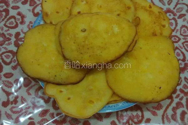 玉米粒小饼