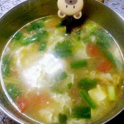 西红柿鸡蛋汤的做法[图]