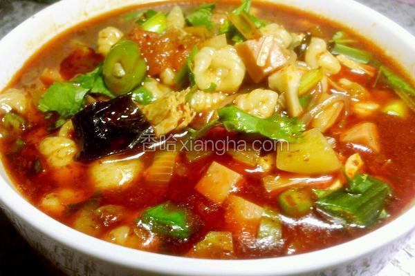 小吃麻食的做法_一锅烩麻食的做法_菜谱_香哈网