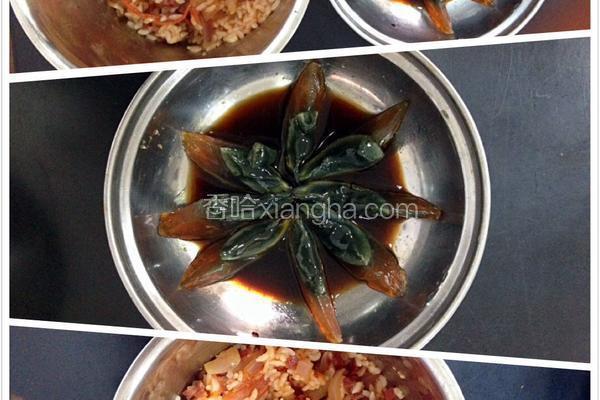 洋葱西红柿牛肉炒饭
