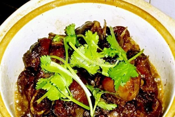 红酒猪蹄/莲藕汤