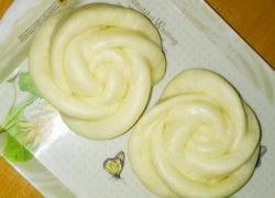 奶香白玫瑰馒头