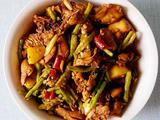 豇豆烧鸡肉的做法[图]