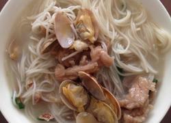 花蛤米粉汤