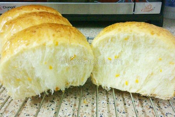 橙香吐司面包