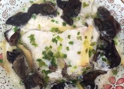 蛋清蒸鳕鱼排
