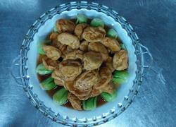 鱼腐扒菜胆
