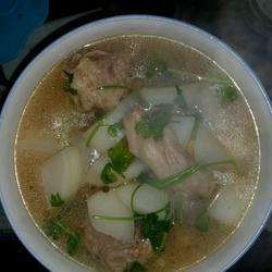 羊尾萝卜汤