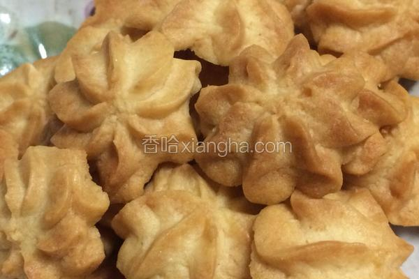 椰奶蛋白曲奇饼干