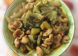 酸菜炒大肠