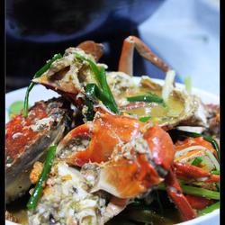 姜葱炒青蟹的做法[图]