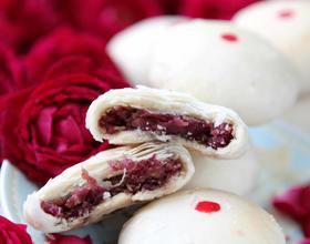 玫瑰鲜花饼[图]