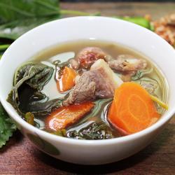 桑叶排骨汤的做法[图]