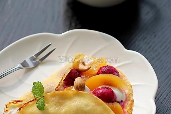 水果可丽饼
