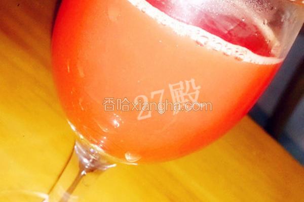 胡萝卜蜂蜜汁