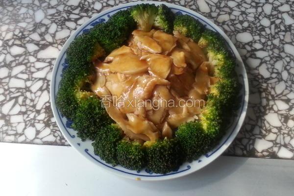 鲍汁白灵菇