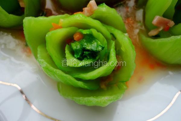 浇汁青菜花