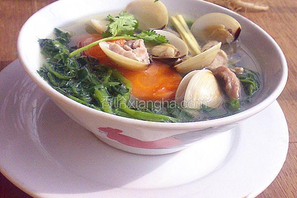 白贝西洋菜汤