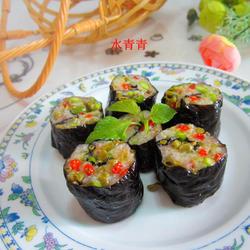 咸菜火腿寿司团的做法[图]