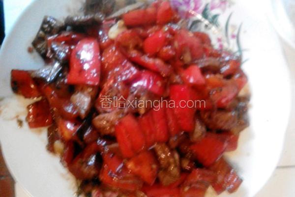 猪肝炒红椒